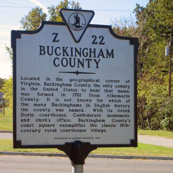 Buckingham-Historic-Marker