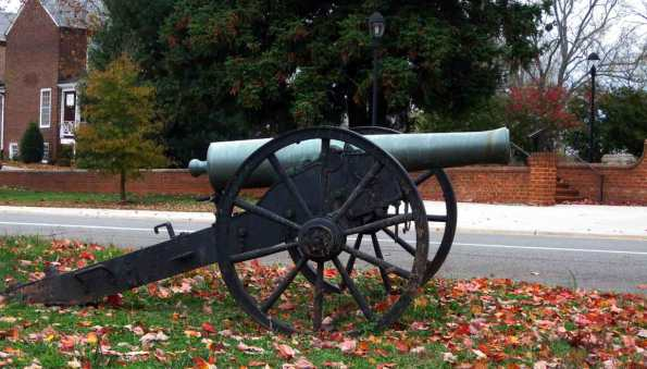 Buckingham County, Virginia CSA Cannon
