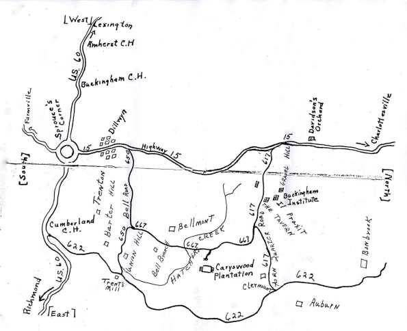 Buckingham_Caryswood_Map