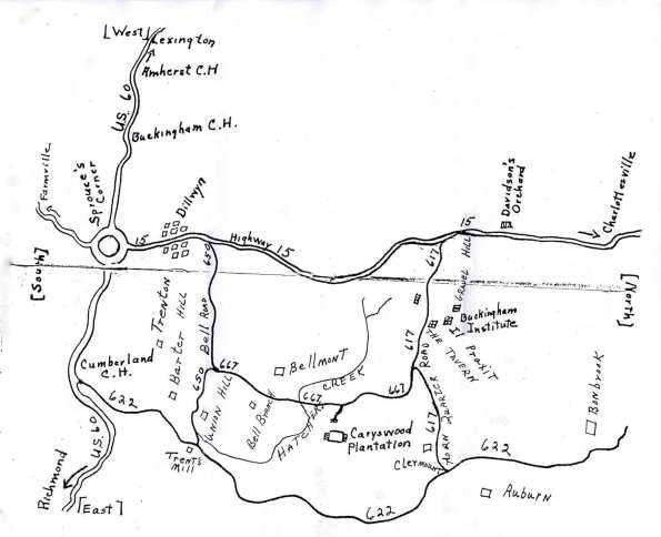 Buckingham_Caryswood_Map