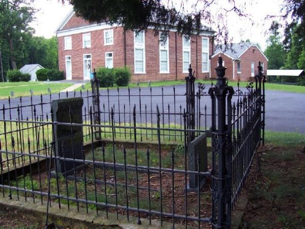 Mt. Zion_Rev Taylor's Grave