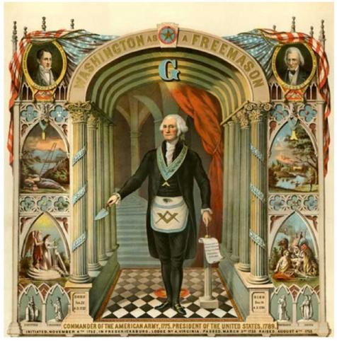 George Washington, Freemason