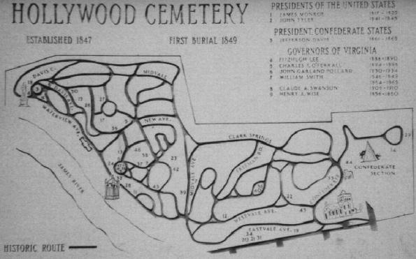 Hollywood Cemetery_Plan