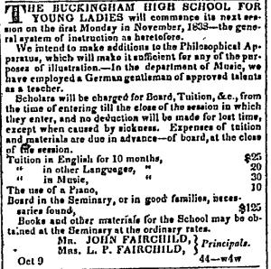 Buckingham_Fairfield School