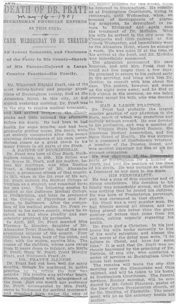 Slate River Ramblings_Pratt_Whitcomb-Eliphalet_Obituary