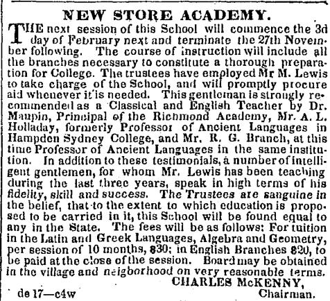 Slate River Ramblings_Buckingham_New Store Academy