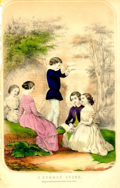 From Godey's Lady's Book, July, 1850