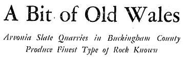 Slate River Ramblings_RTD_1936_Arvonia