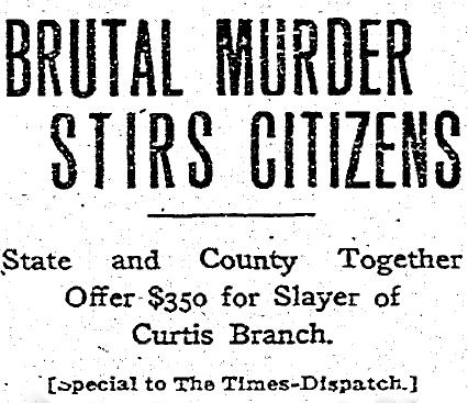 Buckingham Murder 1911