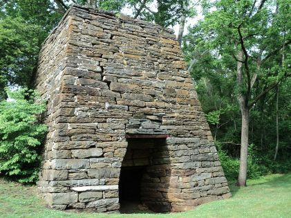 Washington Iron Works in Franklin County Virginia, c.1770--1850. Curtesy Marmaduke Percy, Wikipedia
