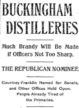 Buckingham_Whiskey_Distilleries