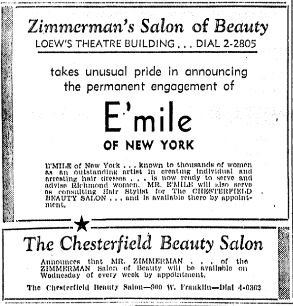 1939_Chesterfield Beauty Salon