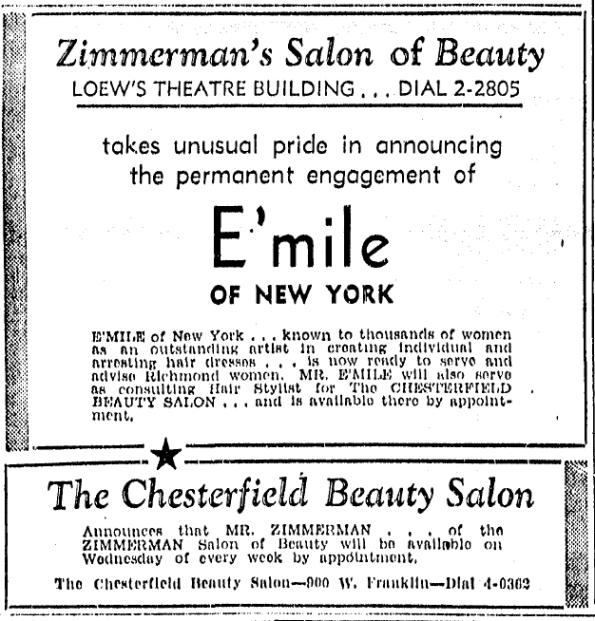 1939_Chesterfield Beauty Salon