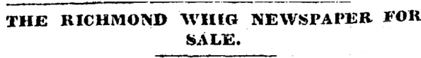Whig For Sale